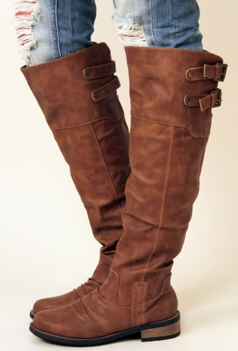 brown boots charlene ross