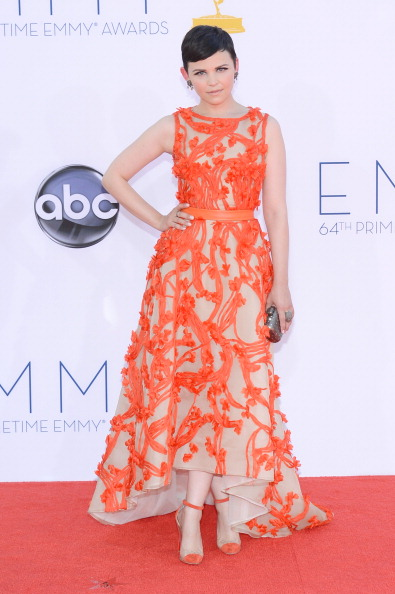 Ginnifer Goodwin 2012 Emmy's Red Carpet