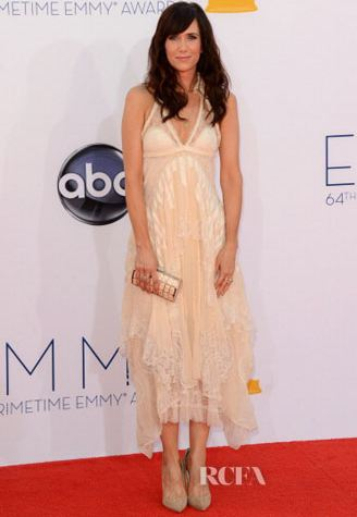 Kristen Wiig on the 2012 Emmy red carpet