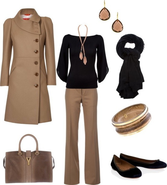 Beautiful fall fashion for office