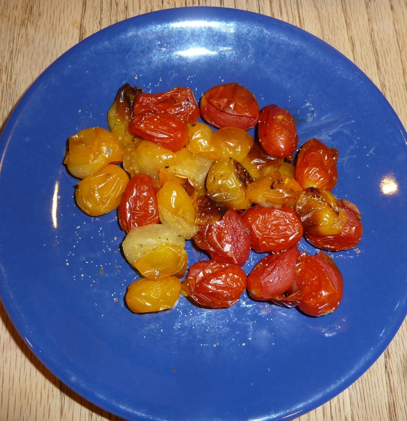 Roasted tomatoes for cabbage soup diet