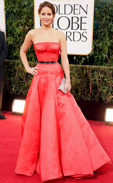 2013 Golden Globes Jennifer Lawrence