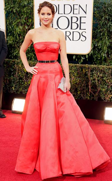 2013 Golden Globes Jennifer Lawrence