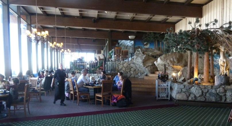 Peaks Restaurant palm springs tramway