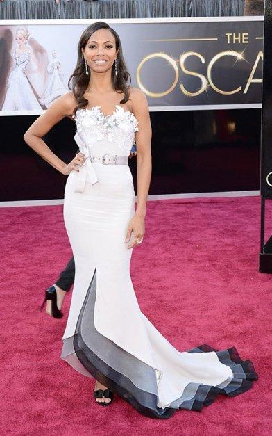 Oscar-Zoe-Saldana-2013-Red-Carpet