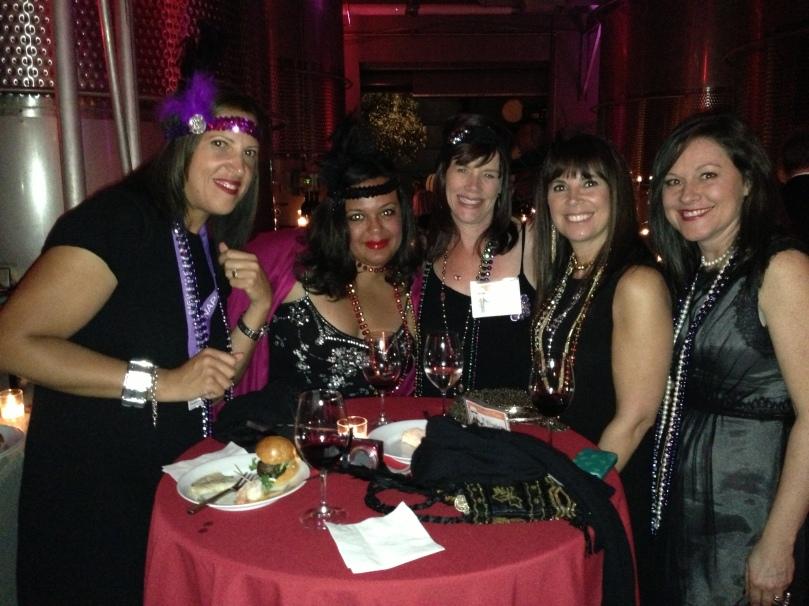 Lorraine Robertson, Carol Cain, me, Elizabeth Mascali and Dawn Sandomeno
