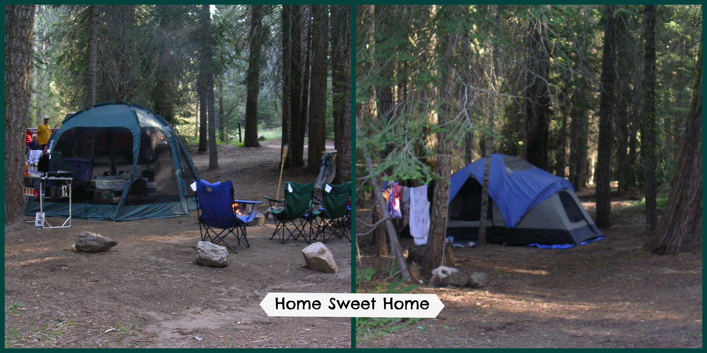 Dinkey creek charlene ross for Camp sites with cabins