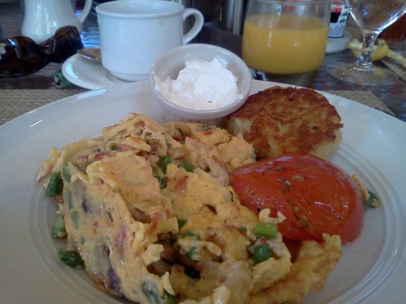 lobster-omelet