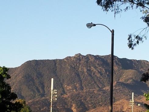 Ladyface Mountain