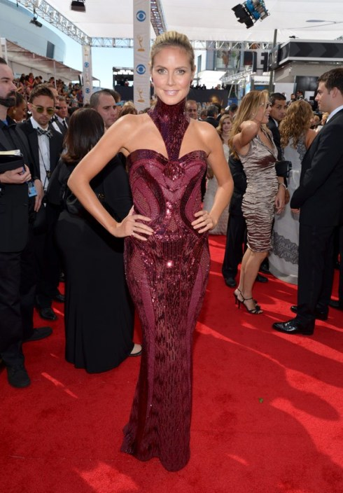 emmy-awards-2013-heidi-klum-