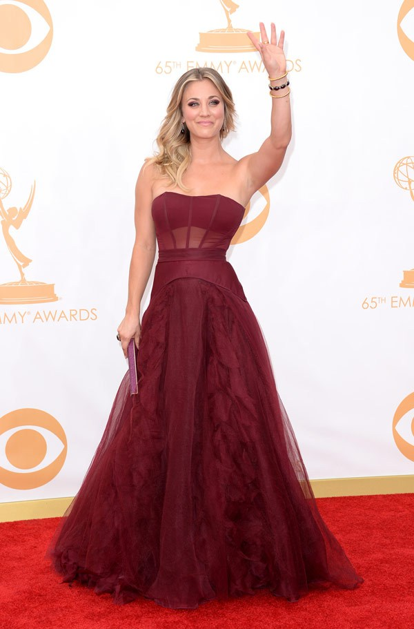 emmy-awards-2013-kaley-cuoco