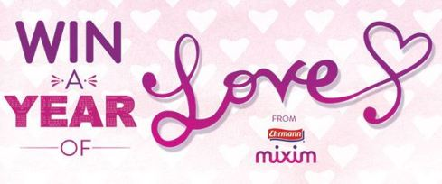 MIXIM win a year of love
