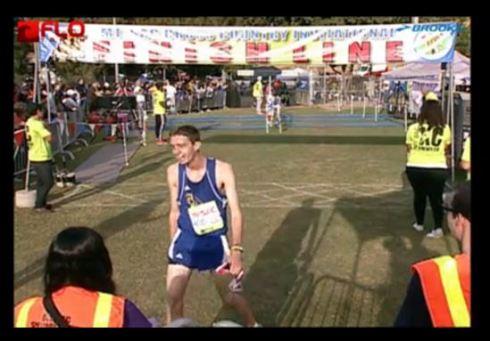 Mt. Sac finish line