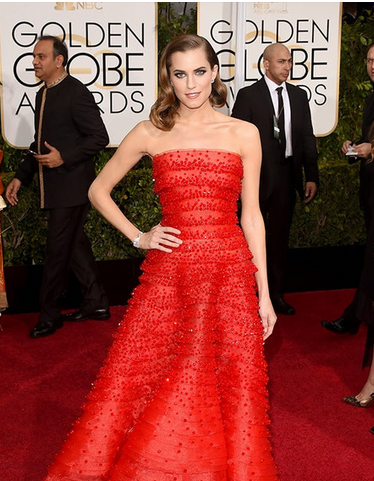 Golden-Globes-2015-Red-Carpet-Allison-Williams