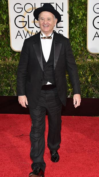 Golden-Globes-2015-Red-Carpet-Bill-Murray