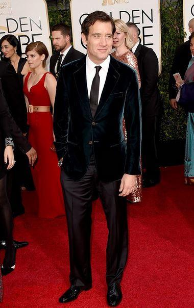 Golden-Globes-2015-Red-Carpet-Clive-Owen