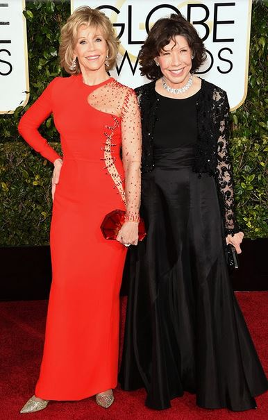Golden-Globes-2015-Red-Carpet-Jane-Fonda-and-Lily-Tomlin