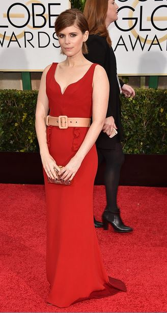 Golden-Globes-2015-Red-Carpet-Kate-Mara