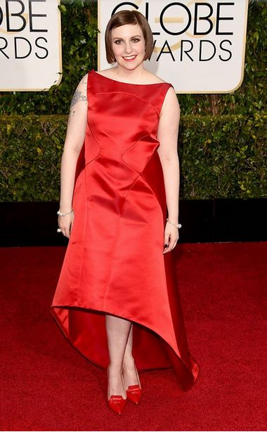 Golden-Globes-2015-Red-Carpet-Lena-Dunham