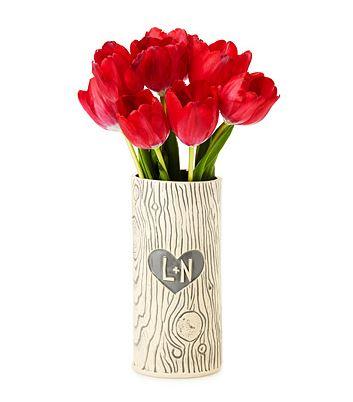 Uncommon-goods-tree-trunk-faux-bois-vase