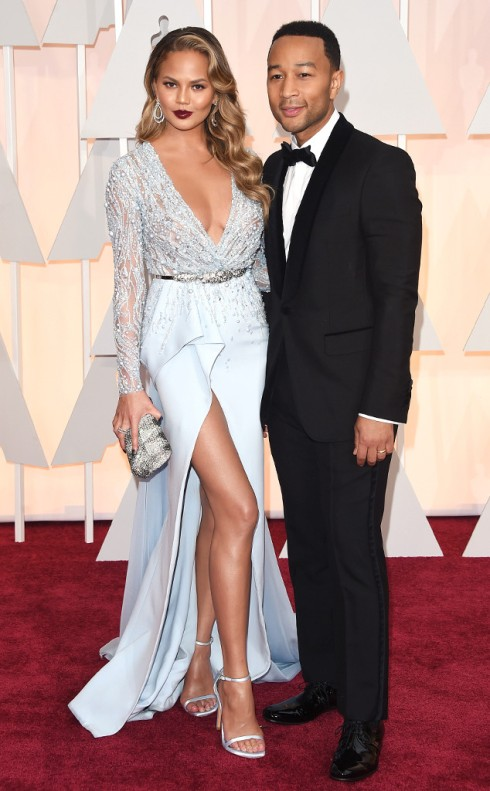 2015-oscar-Chrissy-Teigen-John-Legend-Academy-Awards