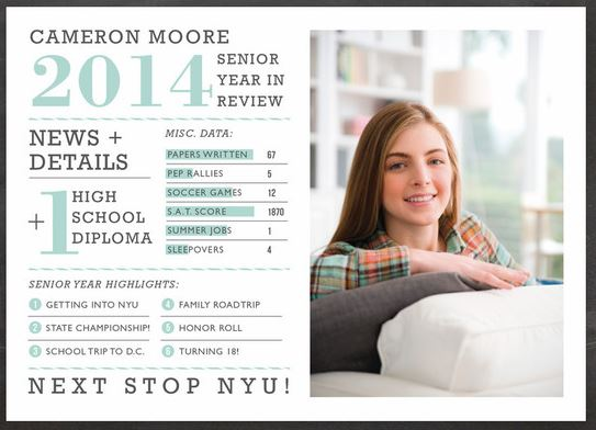 Awesome Graduation Announcements From Minted Charlene Ross