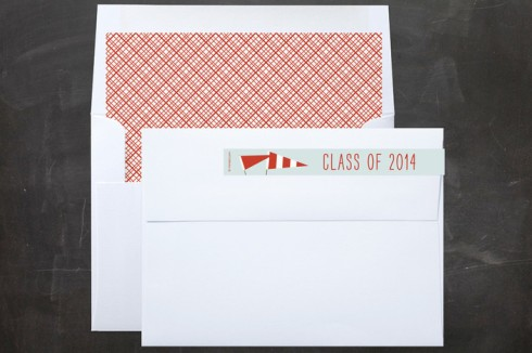 Graduation envelope