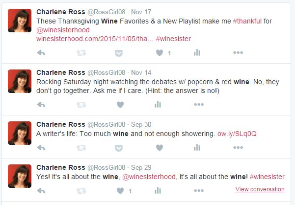 tweets about wine