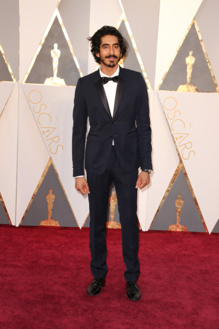Dev patel 2016 oscars red carpet