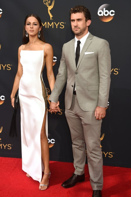 annet-mahendru-lucian-gibson-emmy-awards-red-carpet