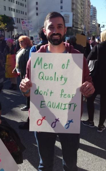 men of quality don't fear equality