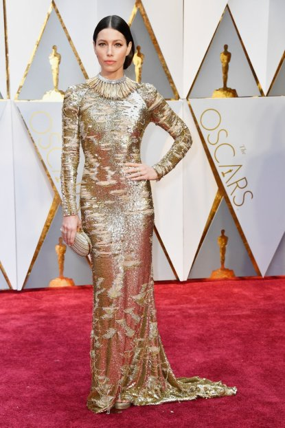 2017-academy-awards-oscars-red-carpet-jessica-biel