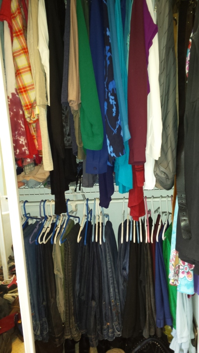 work wardrobe organized closet