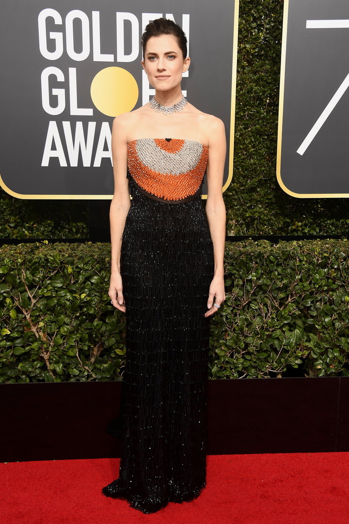 Allison-Williams-Red-Carpet-2018-Golden-Globes