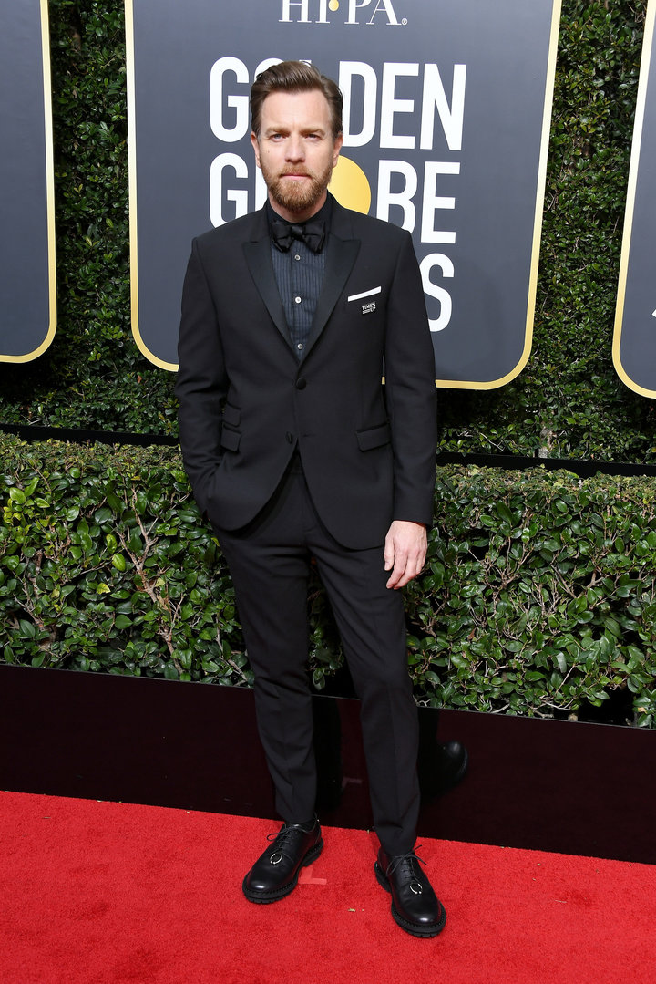 2018 Golden Globe Red Carpet Ewan McGregor