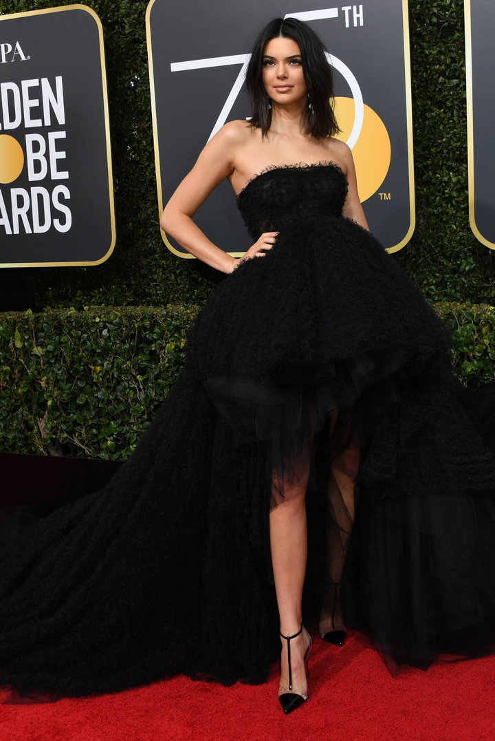 2018 Golden Globe Red Carpet Kendall Jenner
