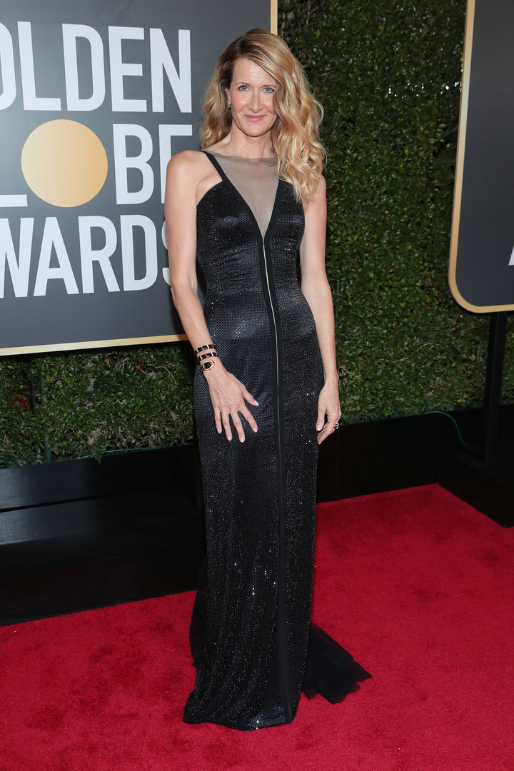 2018 Golden Globe Red Carpet Laura Dern