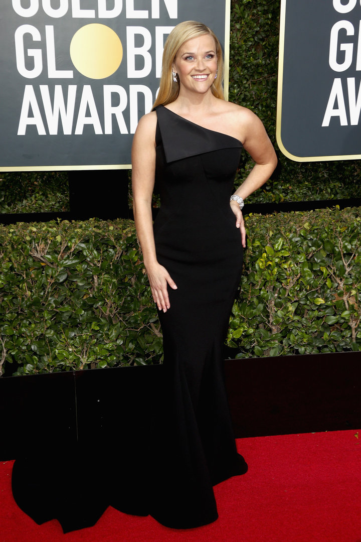 2018 Golden Globe Red Carpet Reece Witherspoon