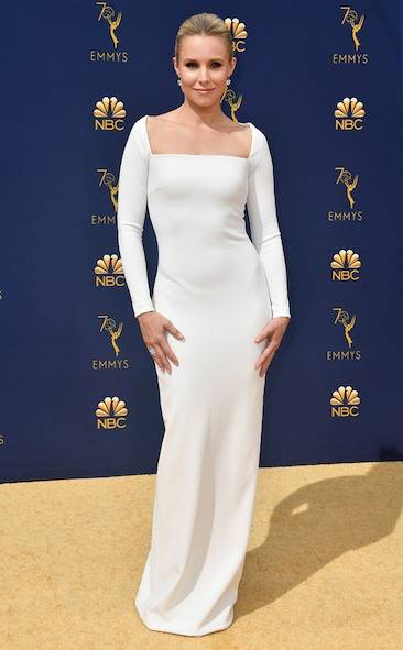 kristen-bell-2018-emmy-awards-red-carpet-fashion