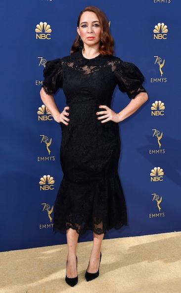maya-rudolph-2018-emmy-awards-red-carpet-fashion